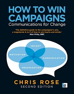chris rose how to win campaigns book cover
