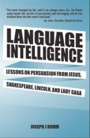 cover image of language intelligence on rhetoric by joseph romm