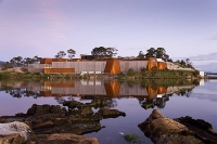 a picture of mona, the museum of old and new art in hobart