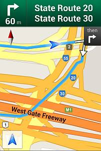 A screenshot of google maps illustrating the difficulties in planning or predicting.