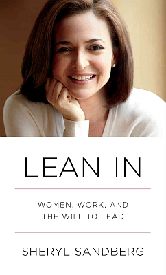 the cover image of lean in by facebook coo sheryl sandberg