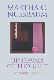 book cover for upheaval of thought by martha nussbaum