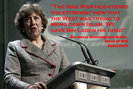 """The Iraq war heightened the extremist view that the West was trying to bring down Islam. We gave Bin Laden his jihad."""